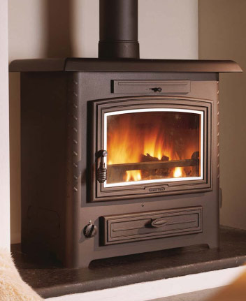 Aarrow Stratford TF90B 24Kw Multifuel Boiler Stove 18 to 20 Rad