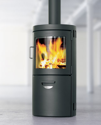 HWAM Monet with Watertank 4-10 kW (Contemporary Boiler Stove)